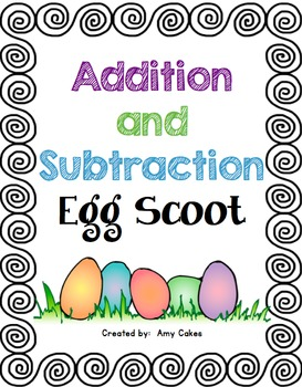 Addition and Subtraction Egg Scoot