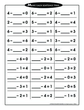 Addition and Subtraction Within 20 - 2 (CCSS 1.OA.C.6)