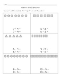 Math Worksheets: Addition and Subtraction Equations Using