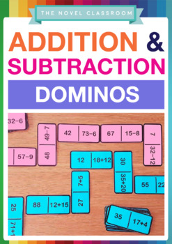 Addition and Subtraction Fact Dominos - 2 Set Pack