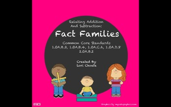 Addition and Subtraction: Fact Families