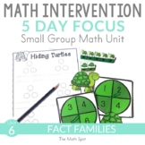 Addition and Subtraction Fact Families | 1st Grade Small G