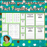 Addition and Subtraction Fact Families Activity
