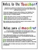 Addition and Subtraction Fact Families/Familias de operaciones (sumas y restas)