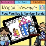 Addition and Subtraction Fact Families Number Bonds 1st Grade Google Classroom