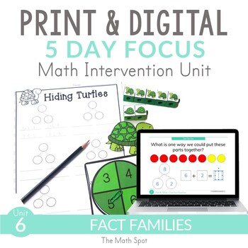 Addition and Subtraction Fact Families Unit