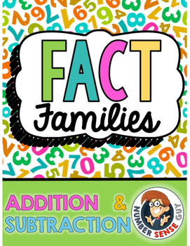 Addition and Subtraction Fact Family Fluency Program
