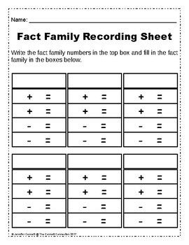 Addition and Subtraction Fact Family Puzzles Christmas Edition