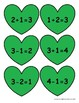 Addition and Subtraction Fact Family Puzzles Saint Patrick's Day Edition