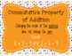 Addition and Subtraction Fact Family and Properties Bundle