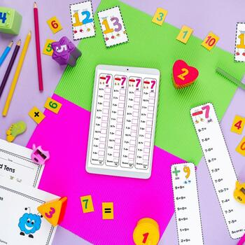 Addition and Subtraction Fact Fluency 2nd Grade- CC 2.OA.B.2