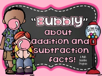 Addition and Subtraction Fact Fluency Incentive Program