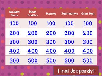 Grade 2 Fast Fact Fluency Common Core Math Jeopardy!
