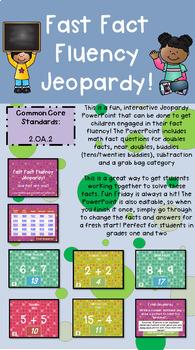 Math Fact Fluency JEOPARDY!