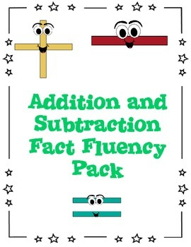 Addition and Subtraction Fact Fluency Pack
