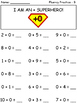 Addition and Subtraction Fact Fluency Practice Pack