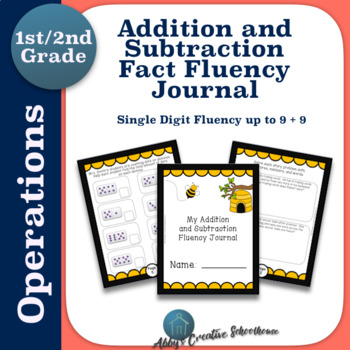 Addition and Subtraction Fact Fluency Interactive Student Journal