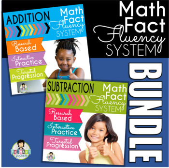 Addition and Subtraction Fact Fluency System Bundle