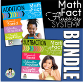 Math Fact Fluency Activities Addition and Subtraction Kit