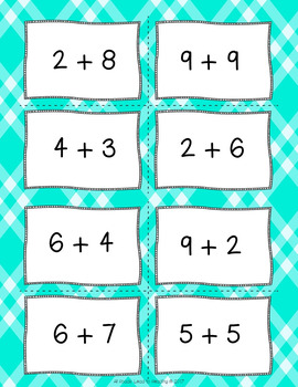 Addition and Subtraction Fact Game Bundle