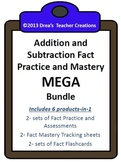 Addition and Subtraction Fact Practice MEGA Bundle