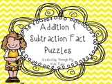 Addition and Subtraction Fact Puzzles