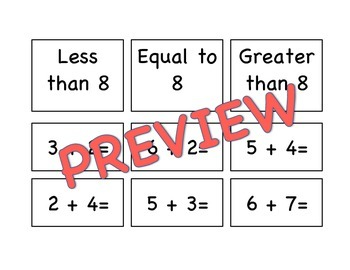 Addition and Subtraction Fact Sort Bundle