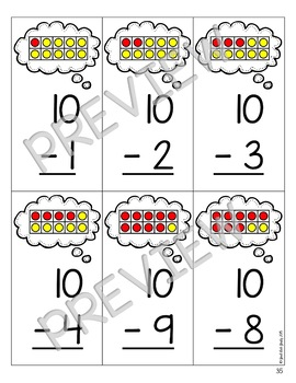 Addition and Subtraction Fact Strategies Flashcard Bundle