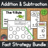 Addition and Subtraction Fact Strategy Bundle