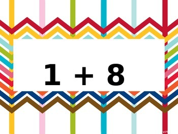 Addition and Subtraction Facts (0-10)