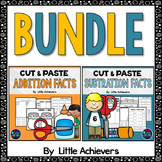 Fact Families Addition and Subtraction Worksheets BUNDLE