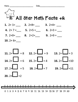 Addition and Subtraction Facts 2-10