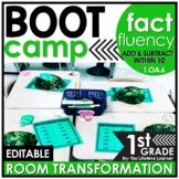 Addition and Subtraction Fact Fluency   Boot Camp Room Tra