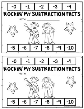 Addition and Subtraction Facts Bundle