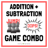 Addition and Subtraction Facts Game Combo