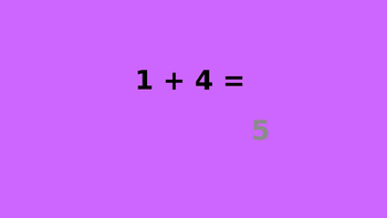 Addition and Subtraction Facts PPT