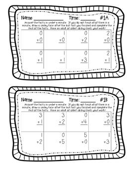 Addition and Subtraction Facts (Sums and Differences 0-5)