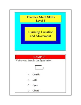 Learning Location and Movement