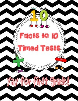 Addition and Subtraction Timed Tests Within 10