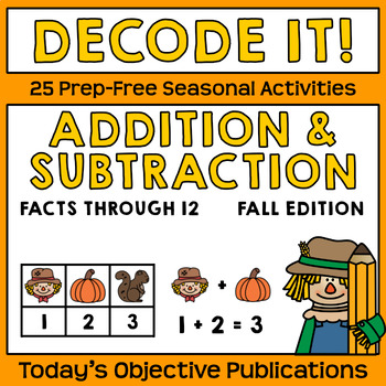 Addition and Subtraction Fall Codes