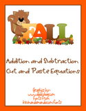 Addition and Subtraction Fall Equations