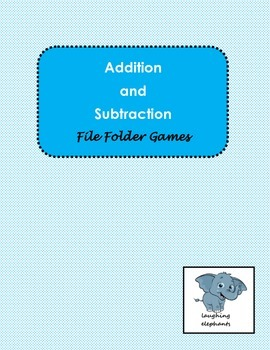 Addition and Subtraction File Folder Games