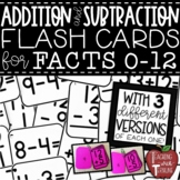 Addition and Subtraction Flash Cards BUNDLE {Printable Flashcards with Answers}