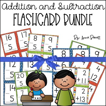 Addition and Subtraction Flashcards