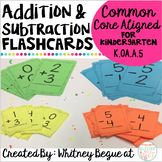 Addition and Subtraction Flashcards: Answers Within 5