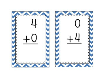 Addition and Subtraction Flashcards- BUNDLE