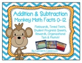 Addition and Subtraction Flashcards and Timed Tests 0-18 M