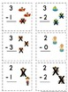 Addition and Subtraction Flashcards within Five ~ Full Picture Support Provided