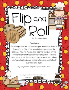 Addition and Subtraction - Flip and Roll