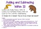 Addition and Subtraction Fluency Within 10 (Kindergarten)